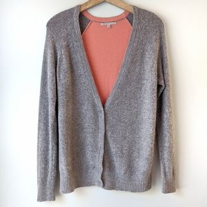 Gap Colorblock Super Soft Cardigan Sweater